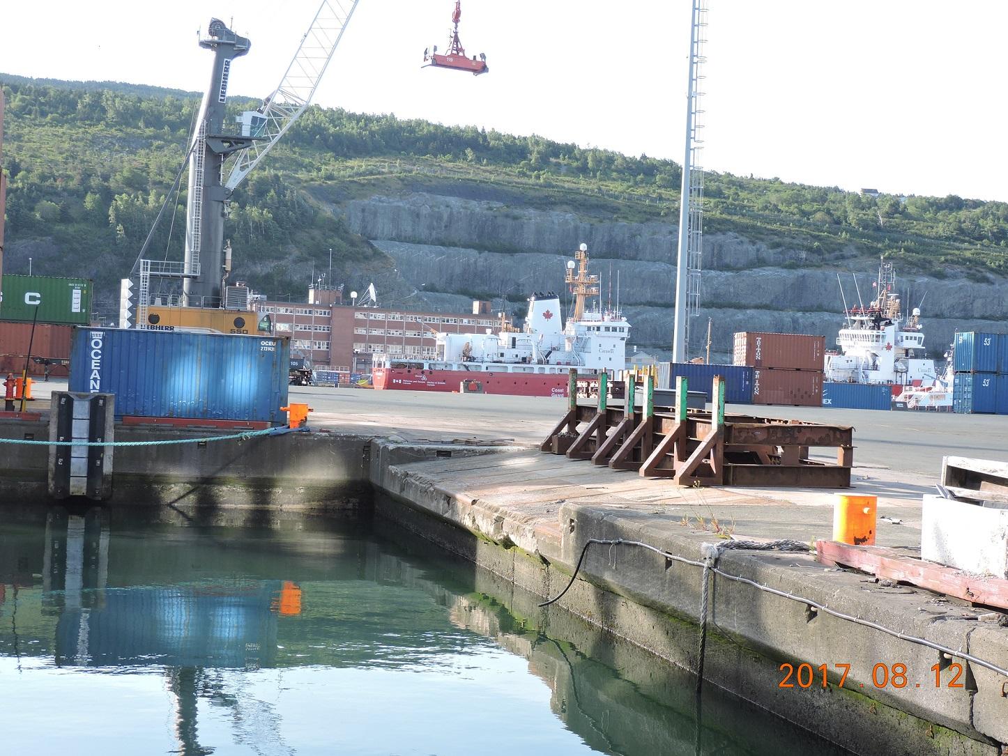 Port terminal.