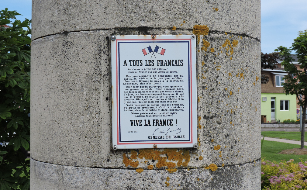 de Gaulle's appeal to the French people