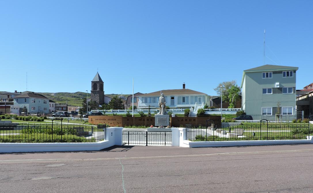 St. Pierre. Marine's Monument.