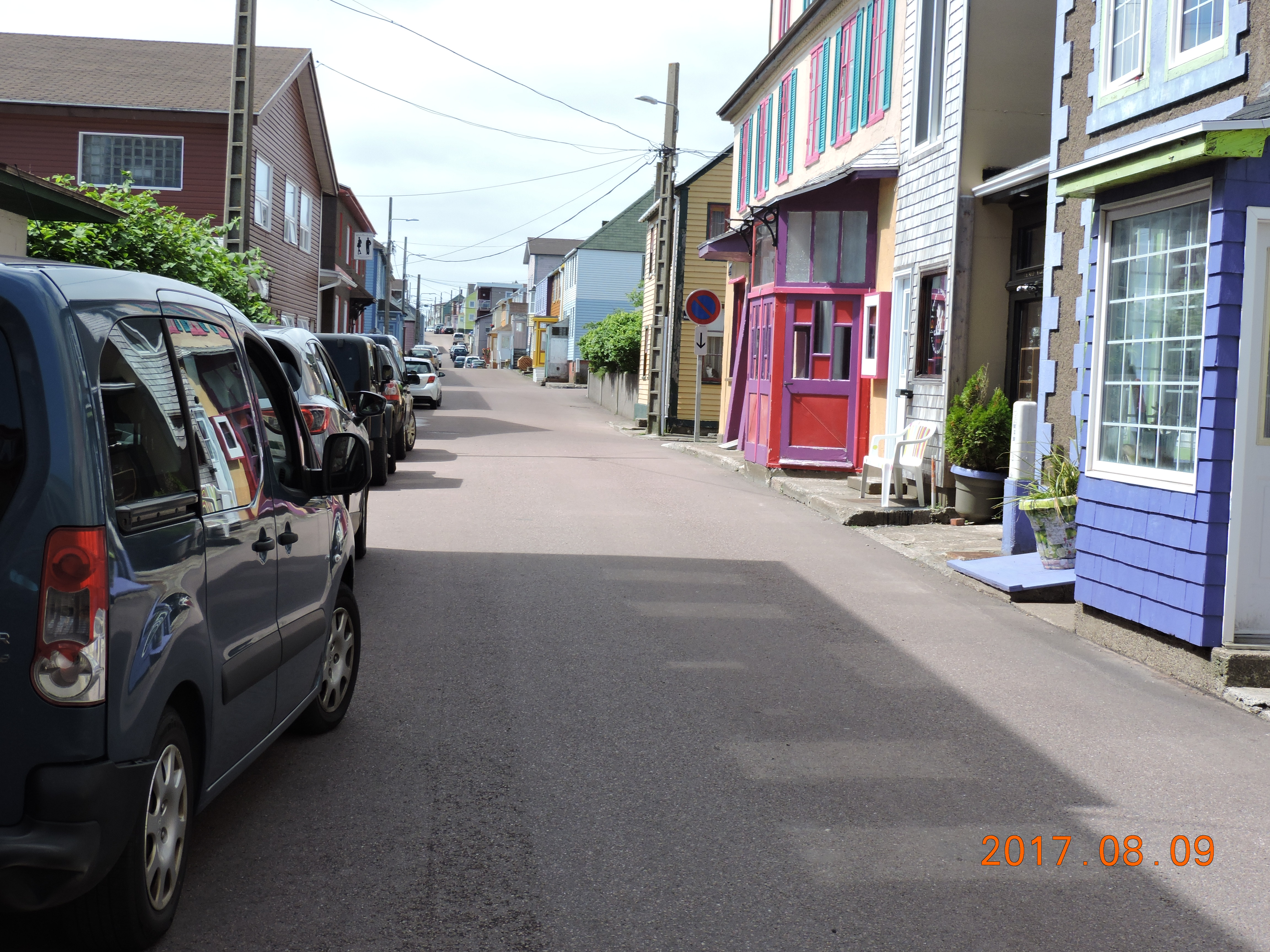 City of St. Pierre. Streets