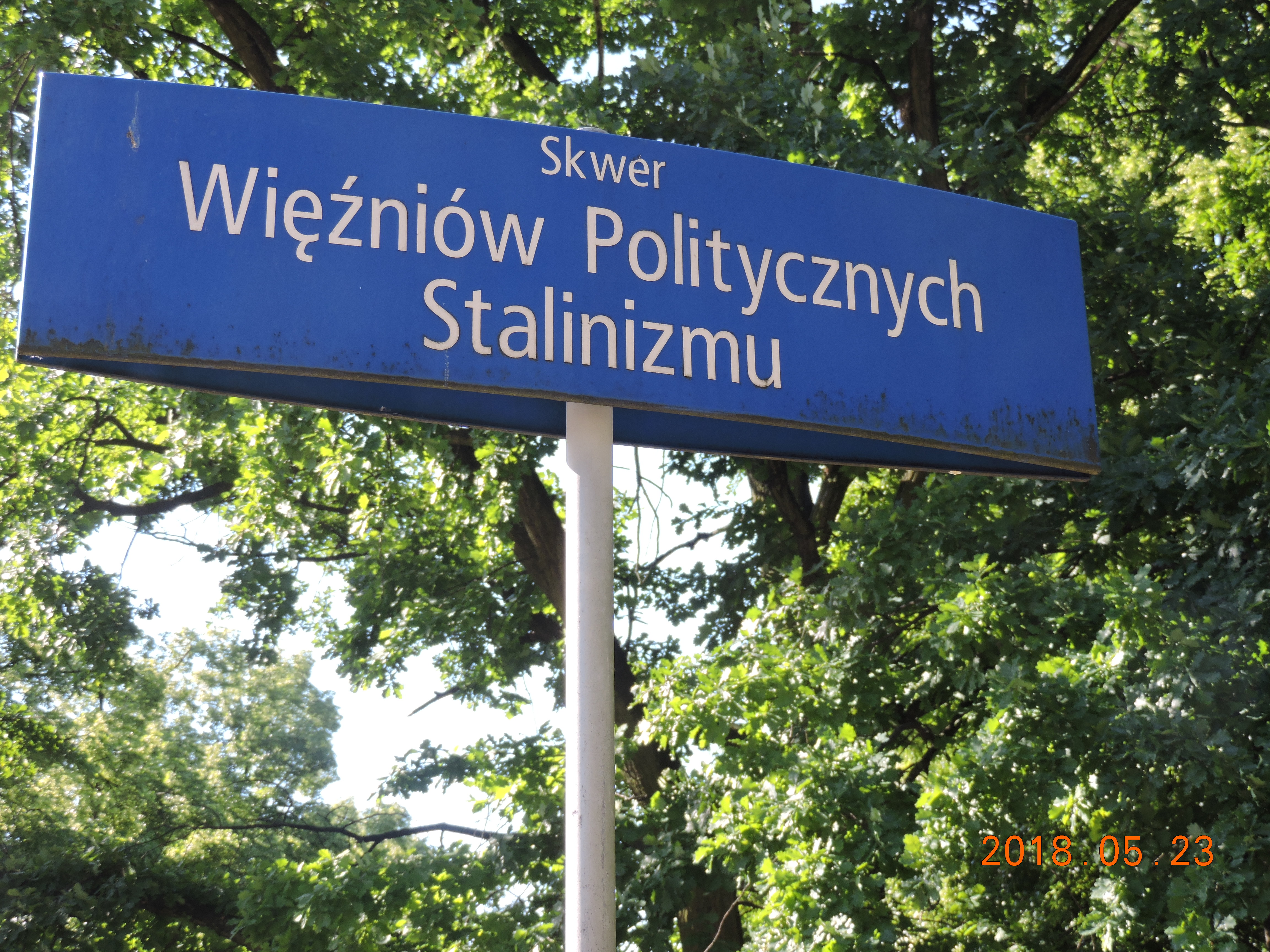 Park of Stalin's Political Prisoners